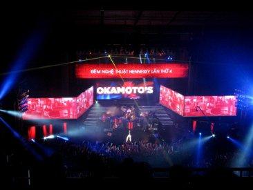 Ban nhạc rock Okamoto's đến từ Nhật Bản