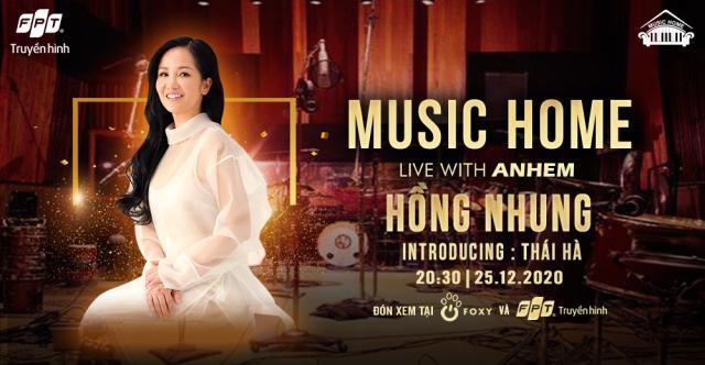 Poster show Hồng Nhung của Music Home